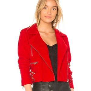 NWT lovers and friends pierce moto jacket-S